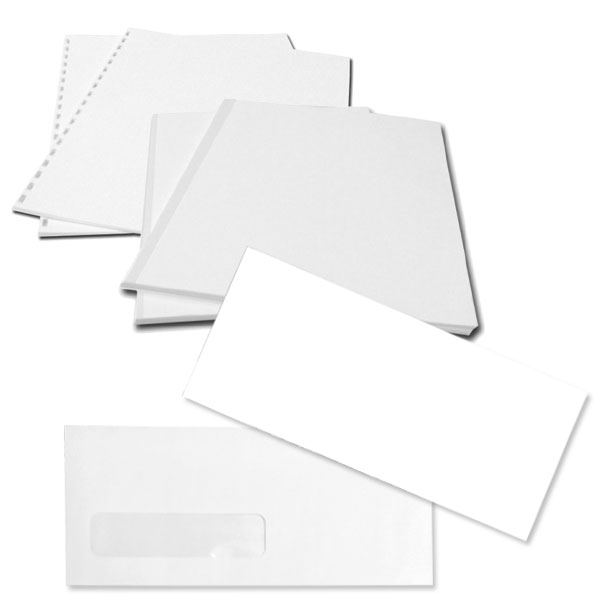 Index & Bond Paper / Envelopes