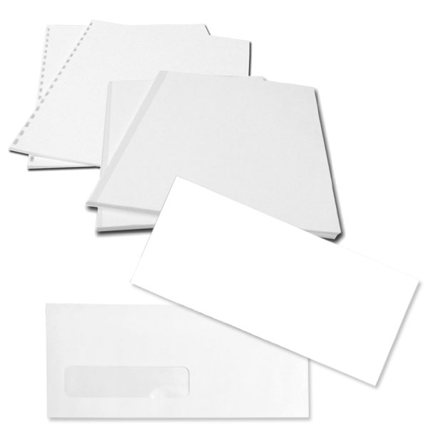 Index & Bond Paper / Envelopes