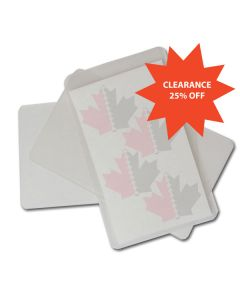 "Laminating Pouch 3"" x 4"" 10mil"
