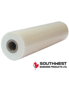 "25"" x 500' 1.5mil PET lite Laminating Film 1"" core (S"