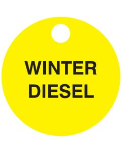 "Small ""Winter Diesel"" CPPI Fuel TAG 2.5"" x 2.5"""