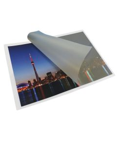 "Laminating Pouches 12"" x 18""  5mil Velvet / Soft Touch"
