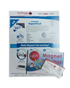 Magnet Laminating pouches - Sample Pack