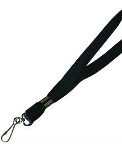 Lanière 3/8 avec crochet rotatif noir