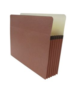 "Tape Reinforced Vertical File Pocket 5.25""- Letter"