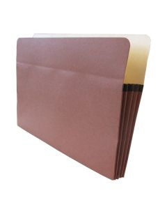 Tape Reinforced Vertical File Pocket Legal 3.5""