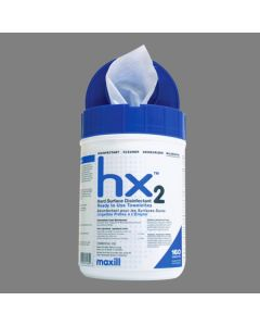 HX2 Hard surface disinfectant wipes