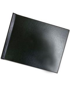 "Pinchbook 8.5""x11"" landscape black leather no wind"