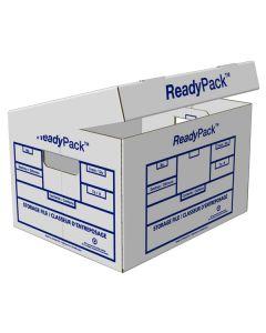 """Ready pack File Box 15""""L x 12""""W x 10""""D- White"""