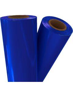 "Pellicule de thermocollage bleu royal 24"" x 500' x 1"""