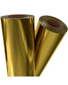 """Fusing Foil Metallic Gold 12"""" x 100' x 3"""" core"""