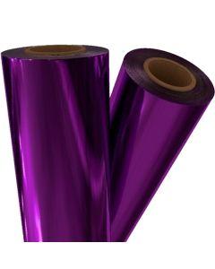 "Pellicule de thermocollage violet 24"" x 500' x 1"""