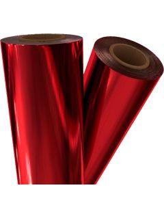 """Pellicule de thermocollage rouge foncé 24"""" x 500' x 1"""""""