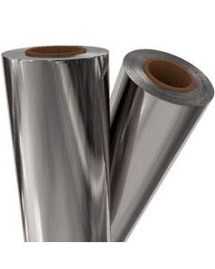 "Fusing Foil Metallic Silver 12"" x 500 x 3"" core"