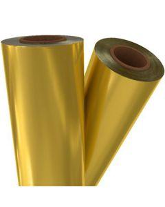 """Fusing Foil Matte Gold  12"""" x 500 x 3"""" core"""