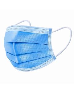 Disposable Three-Layer Face Mask - Blue