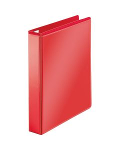 "1-1/2"" D Ring Red Polypropylene Clear View Binder"