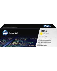 HP 305A Original Toner Cartridge Yellow #HEWCE412A