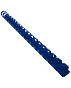 Reliure Plastique 3/8'' 19A Bleu