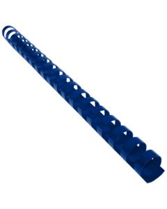 Reliure Plastique 9/16'' 19A Bleu