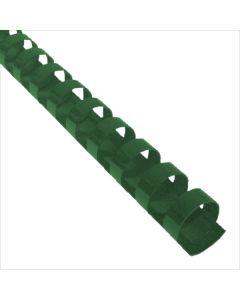 1-3/4 x 19r Hunter Green Plastic Bindings