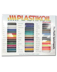Plastic Coil Colour Chart