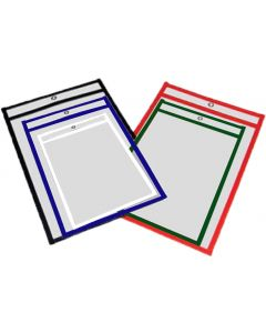 Clear Docket Holder 12 x 18 with Grommet