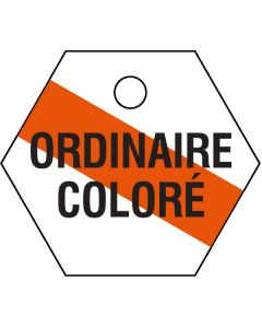 "Petit ""ORDINAIRE COLORE"" ICCP d'identification"