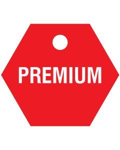 """Small """"PREMIUM"""" CPPI Fuel Tag 2.5""""x2.5"""""""