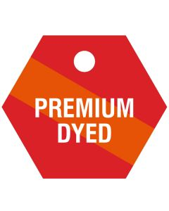 "Small ""PREMIUM DYED"" CPPI Fuel Tag 2.5""x2.5"""