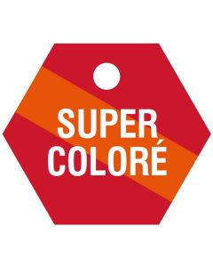 """Small """"SUPER COLORE"""" CPPI Fuel Tag 2.5""""x2.5"""""""