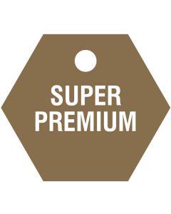 """Small """"SUPER PREMIUM"""" CPPI Fuel Tag 2.5""""x2.5"""""""