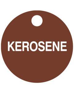 """Small """"KEROSENE"""" CPPI Fuel Tag 2.5"""" x 2.5"""""""