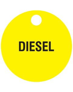 "Small ""DIESEL"" CPPI Fuel Tag 2.5"" x 2.5"""