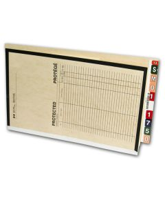 Printed Classification File Folders