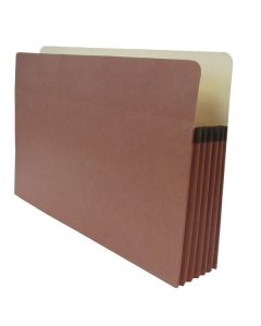 "Tape Reinforced Vertical File Pocket 5.25"" - Legal"