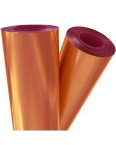 """Fusing Foil Rose Gold  24 x 500 x 1"""" core"""