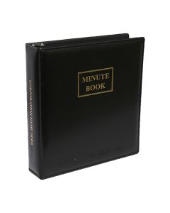 Minute Book Binders
