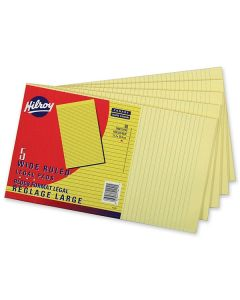 Lined Pad Yellow  14""