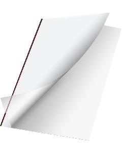 Unicover Flex 80pg Bordo Clear/Matte 11 x 8-1/2