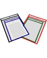 Small Catalog Holder Clear Vinyl pouch with Strap and Lobster Clasp Landscrape Small Catalog Holder 6h x 9w